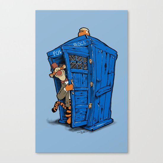 It's B-I-Double g-ER on the Inside Canvas Print