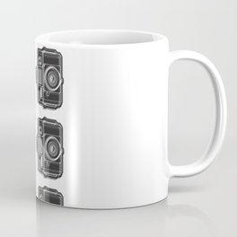 I Still Shoot Film Holga Logo - Black and White Coffee Mug