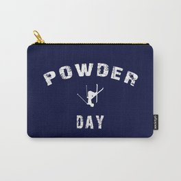 Powder Day Navy Blue Carry-All Pouch