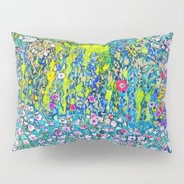 """Gustav Klimt """"Horticultural Landscape with hilltop"""" Pillow Sham"""