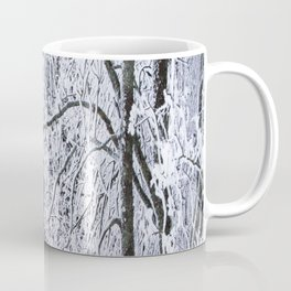 Snowy Tree Branches Winter Scene #decor #society6 #buyart Coffee Mug