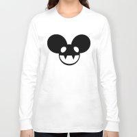 deadmau5 Long Sleeve T-shirts featuring deadmau5 by Torches