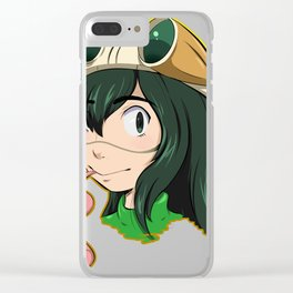 Froppy Clear iPhone Case