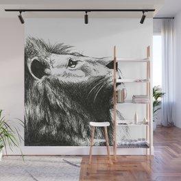 African cat Wall Mural