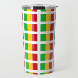 Flag of mali -mali,malien,malienne,malian,bamako,tombouctou,timbuktu,sikasso,mopti,mande Travel Mug