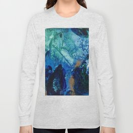 Sea Leaves, Tiny World Collection Long Sleeve T-shirt
