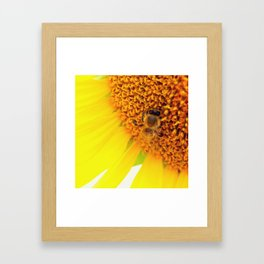 "SAVE THE BEE""S Framed Art Print"
