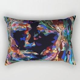 Rainbow Mina Rectangular Pillow