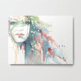 Girl ASD 02 Metal Print