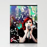 transistor Stationery Cards featuring Transistor - Before We All Become One… by Danielle Tanimura