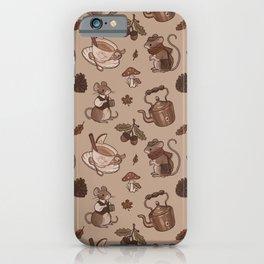 Autumnal Lads iPhone Case