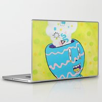 health Laptop & iPad Skins featuring Mental Health by Frenemy
