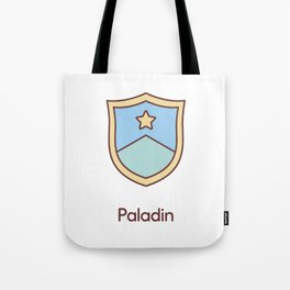 Cute Dungeons and Dragons Paladin class Tote Bag