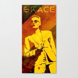 Grace Jones Canvas Print