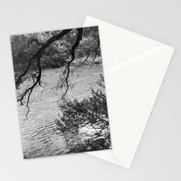 Alpine Lake through the Trees Stationery Cards