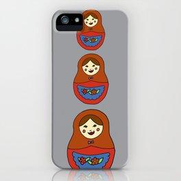 3 Matroyshkas iPhone Case
