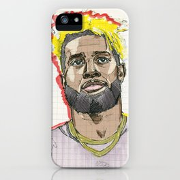 Odell Beckham: Menace II Society iPhone Case