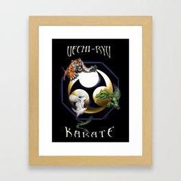 Uechi poster Framed Art Print