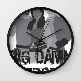 big damn heroes, firefly serenity Wall Clock