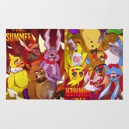 FNAF Summer (Olds version) Rug