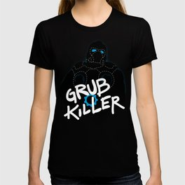 Grub Killer (Blue) T-shirt