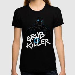 Grub Killer (Blue) T-shirt