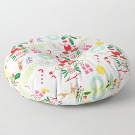 Christmas Floor Pillow