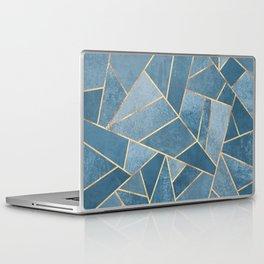 Dusk Blue Stone Laptop & iPad Skin