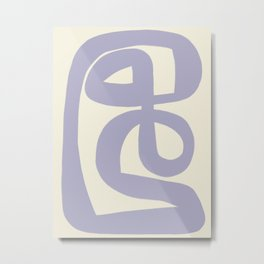 Modern Minimal Abstract #8 Metal Print