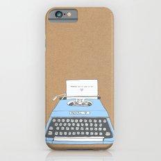 Remember  Slim Case iPhone 6s