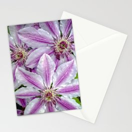 Clematis 2 Stationery Cards