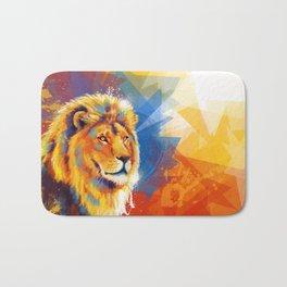 Majesty - Lion portrait Bath Mat
