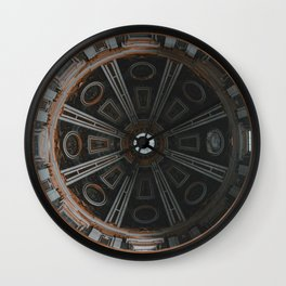 Looking Up - St. Peter's Basilica Wall Clock