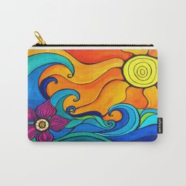 Good Vibes and High Tides Carry-All Pouch