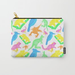Beautiful Bright Australian Native Animals Carry-All Pouch