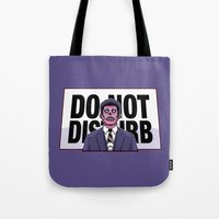 obey Tote Bags featuring Obey! by LuisD