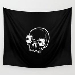 Skate Skull Skateboarder Gift Wall Tapestry