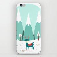 frozen iPhone & iPod Skins featuring Frozen by General Design Studio