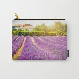 Beautiful cottage among lavender fields in Provence, France Carry-All Pouch
