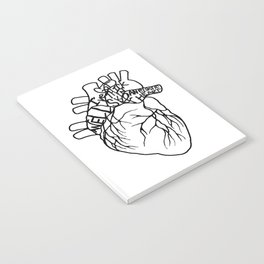 Elastic Heart Notebook