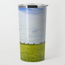 Canola Field Yellow - Landscape Travel Mug