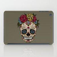 "sugar skull iPad Cases featuring ""SUGAR SKULL"" by Magdalena Sky - The Moth"