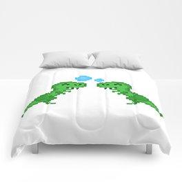 Dino Bubbles Comforters