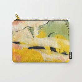 landscape abtract - paysage jaune Carry-All Pouch