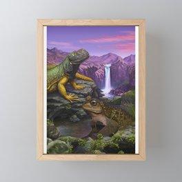 Cold blooded Framed Mini Art Print