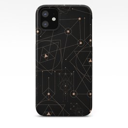 celestial pattern design iPhone Case