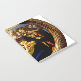 "Sandro Botticelli ""Madonna of the Pomegranate (Madonna della Melagrana)"" Notebook"