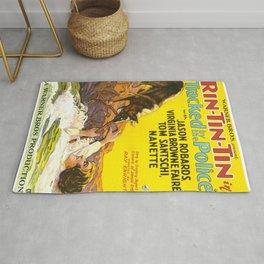 Vintage poster - Rin-Tin-Tin Rug