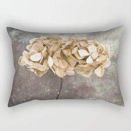 Dried Hydrangea Rectangular Pillow