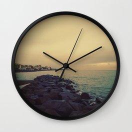 Cold Beach Wall Clock